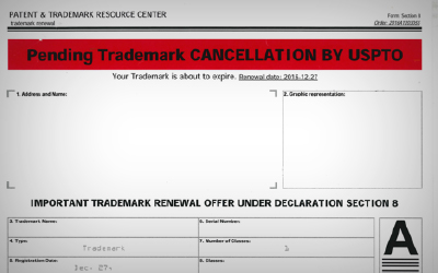 Watch Out for Trademark Scams and Misleading Notices